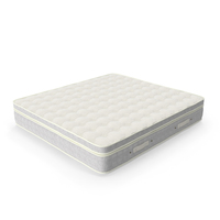 Super King Double Size Sleeping Mattress PNG & PSD Images