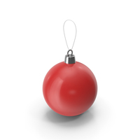 Christmas Tree Toy Red PNG & PSD Images