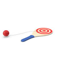 Vintage Paddle Ball PNG & PSD Images