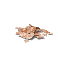 Rusty Corrugated Metal Construction Debris PNG & PSD Images