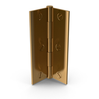 Hinge Golden With Screw Head PNG & PSD Images