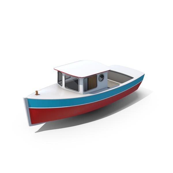 Vintage Cruiser Boat PNG & PSD Images