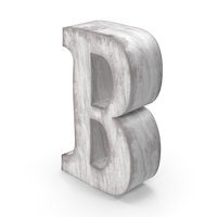 Wooden Decorative Letter B PNG & PSD Images