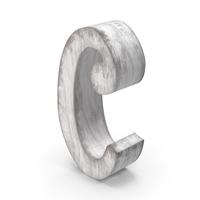 Wooden Decorative Letter C PNG & PSD Images