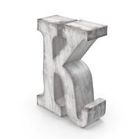 Wooden Decorative Letter K PNG & PSD Images