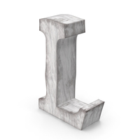 Wooden Decorative Letter L PNG & PSD Images