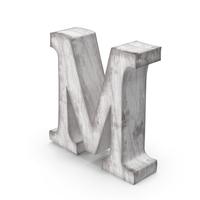 Wooden Decorative Letter M PNG & PSD Images
