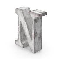 Wooden Decorative Letter N PNG & PSD Images