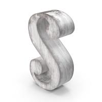 Wooden Decorative Letter S PNG & PSD Images