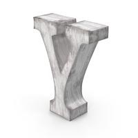 Wooden Decorative Letter Y PNG & PSD Images