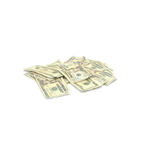 20 Dollars Pile PNG & PSD Images