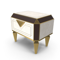 Diamante Nightstand PNG & PSD Images