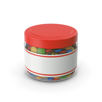 Sweets Chocolate Candy Jar PNG & PSD Images