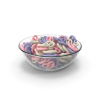 Bowl with Yogurt Covered Pretzels PNG & PSD Images