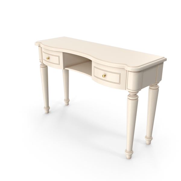 Camelgroup Siena Avorio Vanity Table PNG & PSD Images