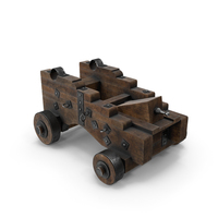 Medieval Gun Carriage PNG & PSD Images