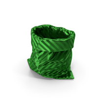 Green Gift Bag PNG & PSD Images