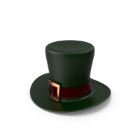 Green St Patrick Hat PNG & PSD Images