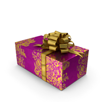 Gift box With Roses PNG & PSD Images