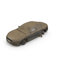 Abandoned Generic Car PNG & PSD Images