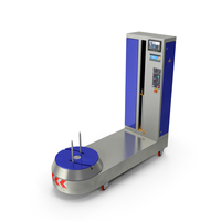 Airport Luggage Suitcase Wrapping Machine PNG & PSD Images