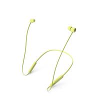 Beats Flex Wireless Earphones Yuzu Yellow PNG & PSD Images
