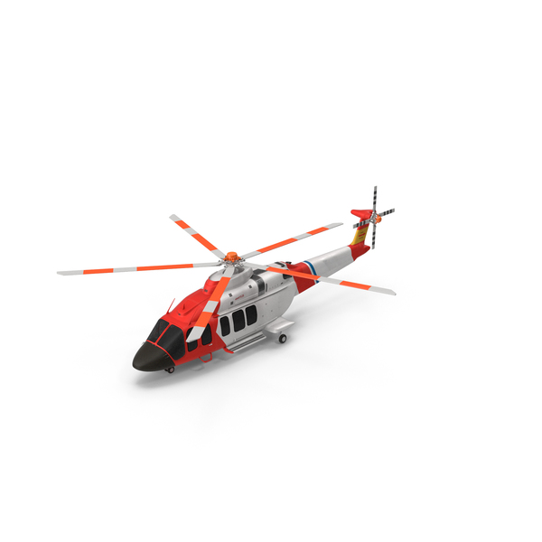 Bell 525 Relentless Paramedic Helicopter PNG & PSD Images