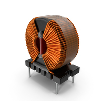 Common Mode Choke Filter Inductor PNG & PSD Images