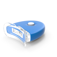 Flash LED Teeth Whitening Lamp Light OFF PNG & PSD Images