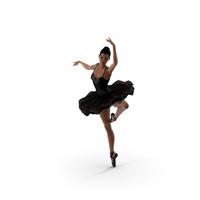 Light Skinned Black Ballerina Dancing Pose PNG & PSD Images