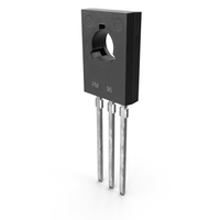 NPN Silicon Power Transistor PNG & PSD Images