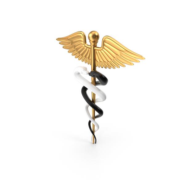 Caduceus Medical Symbol PNG & PSD Images