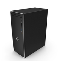 Dell Inspiron 3670 Minitower Desktop PC PNG & PSD Images