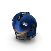 Evolution 252 Helicopter Helmet with Visor Cover PNG & PSD Images