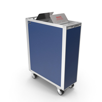 Full Size Waste Trolley PNG & PSD Images