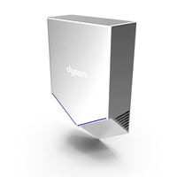Hand Dryer Dyson Airblade Metalic PNG & PSD Images