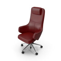 Office Chair Red PNG & PSD Images