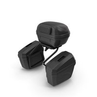 Pair Side Luggage Case Saddlebags PNG & PSD Images