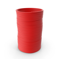 Plastic Slinky Toy Spring Red PNG & PSD Images