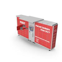 Post Parcel Lockers PNG & PSD Images