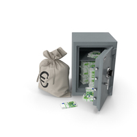 Safe With Euro PNG & PSD Images