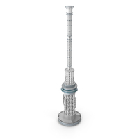 Spire and Antenna System PNG & PSD Images
