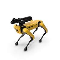 SpotMini Boston Dynamics with Manipulator PNG & PSD Images