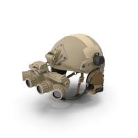 Tactical Helmet Sand Camo PNG & PSD Images