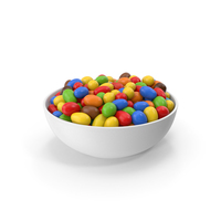 Chocolate Peanuts In Bowl PNG & PSD Images
