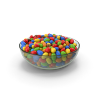 Chocolate Peanuts In Glass Bowl PNG & PSD Images