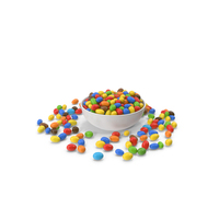 Peanuts Candy In Bowl PNG & PSD Images