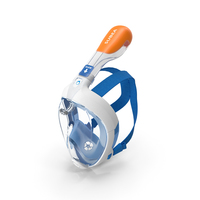Tribord Subea Easybreath Full Face Snorkel Mask PNG & PSD Images