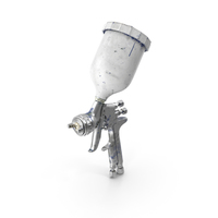 Used Spray Gun PNG & PSD Images