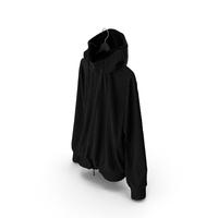 Jacket Black on Hanger PNG & PSD Images